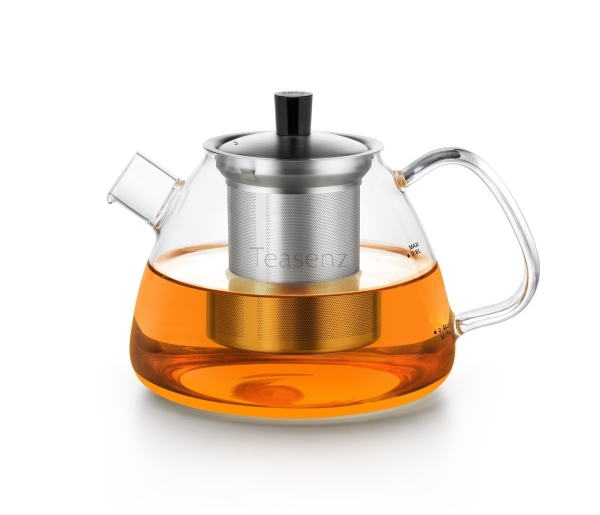 glass teapot with Stainless Steel Filter