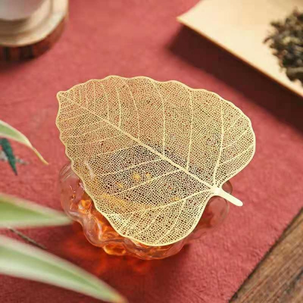 stainless steel leaf shaped filter