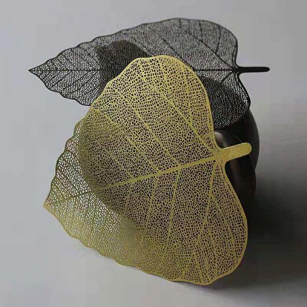 stainless steel leaf shaped mesh filter
