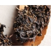 sun dried black tea leaves