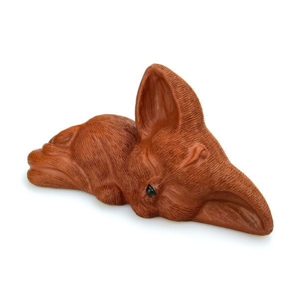baby fox tea pet